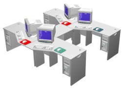 Four Station Sweep Module Cluster from Shawtec